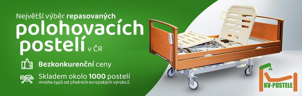 KV-Postele.cz Polohovací postele a pečovatelská lůžka